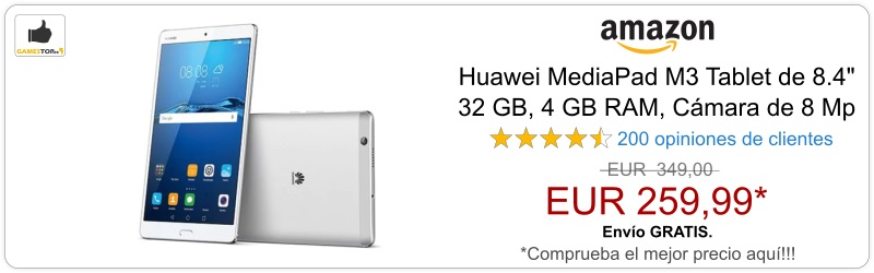 Huawei MediaPad M3 Tablet de 8.4