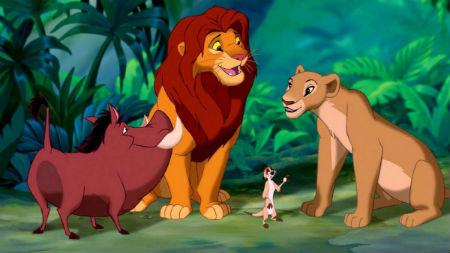 pelicula disney el rey leon