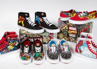 Marvel y Vans