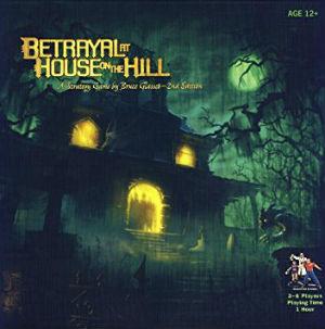 Juego de mesa Betrayal at house on the hill
