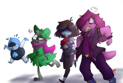 Deltarune personajes