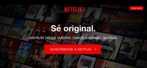 Ver Netflix cuenta de prueba gratis